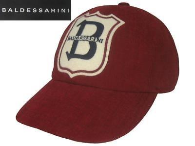 orig. BALDESSARINI Basecap Mütze Cap Baseballmütze rot NEU