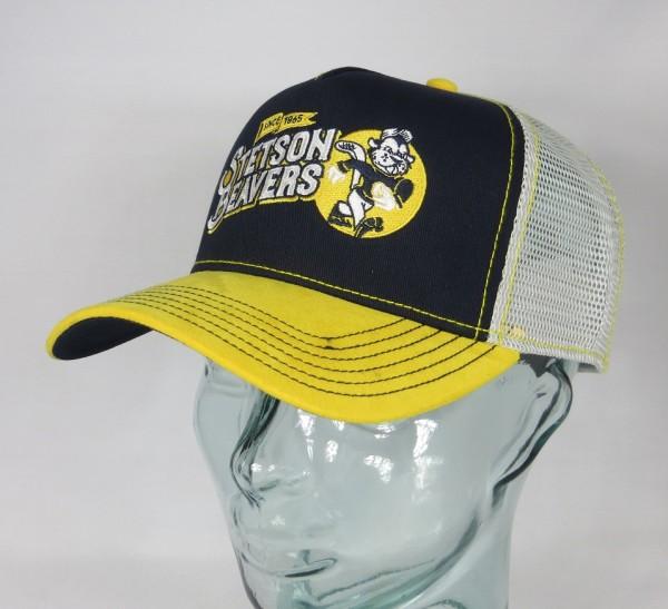 STETSON Trucker Cap Mesh Netz Kappe BASECAP SNAPBACK 7751181 Football Beaver NEU