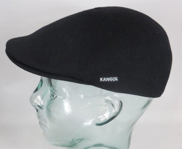 KANGOL BAMBOO 507 Flatcap Schwarz Mütze Ivy Cap Sommermütze Gatsby NEU