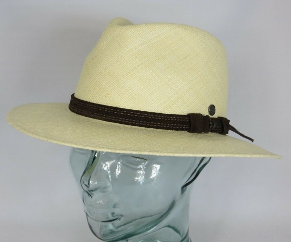 VINTIMILLA Panamahut Strohhut Fashion Panama Stroh Hut UV Schutz 50+ Traveller