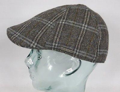 STETSON TEXAS Virgin Wool Flatcap Mütze Cap Wintermütze Gatsby Schiebermütze Neu