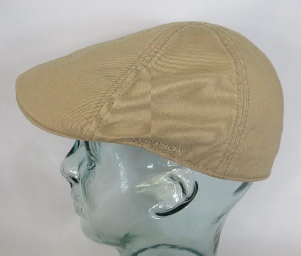 STETSON TEXAS Flatcap Mütze Ivy Cap Cotton Baumwolle Gatsby 6611105 beige NEU