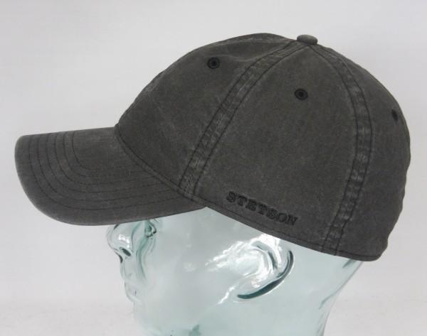 STETSON DUCOR Organic Cotton Basecap Sommer Mütze Kappe Cap grau UV Schutz NEU
