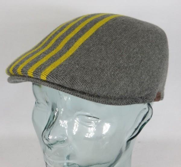 KANGOL MARL STRIPE 507 Flatcap Mütze Cap Kangolmütze Kangolcap Golfcap NEU