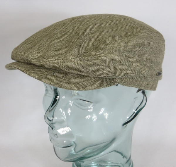 STETSON DRIVER CAP Cotton/Linen Schiebermütze Flatcap Mütze Belfast 6381502 NEU