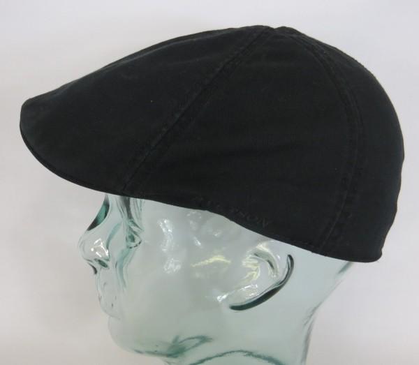 STETSON TEXAS Flatcap Mütze Ivy Cap Cotton Baumwolle Gatsby 6611105 schwarz NEU