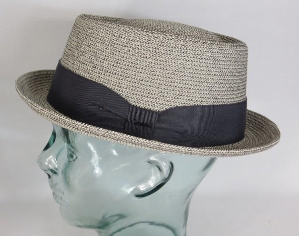 Bailey Hats Waits Pork Pie Hut Hat Strohhut Sommerhut grau Neu
