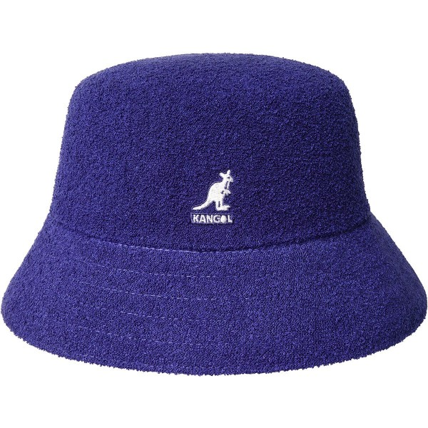 KANGOL BERMUDA Bucket Hat Fischerhut Schlapphut Sommer Hut grape NEU