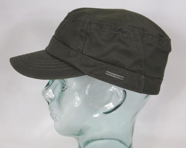 STETSON Army Cap Kuba Mütze co/pe Fullcap Armee Basecap oliv 7431501 NEU