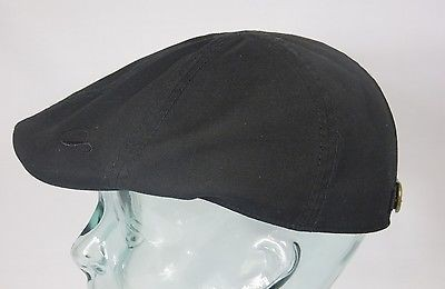 GÖTTMANN ALABAMA Flatcap Ivy Cap Mütze schwarz Gatsby Sommermütze Baumwolle Neu