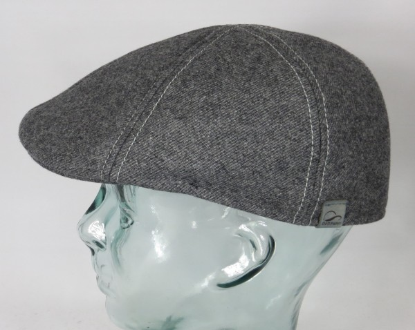 GÖTTMANN GATSBY Flatcap Mütze Ivy Cap Wintermütze Schiebermütze grau Neu