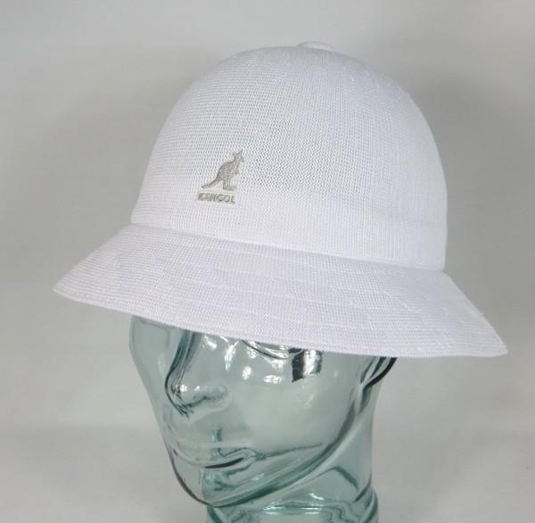 KANGOL TROPIC CASUAL Hut Bucket Hat Bobby weiss Mütze Sommerhut NEU