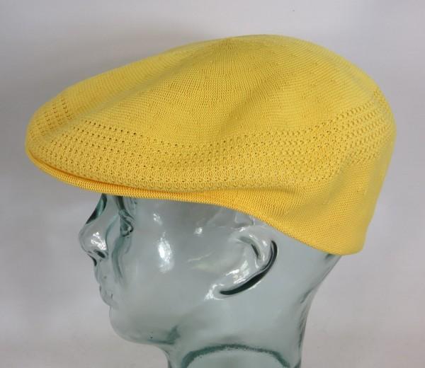 KANGOL TROPIC VENTAIR Flatcap 504 Cap gelb Mütze Kangolmütze Kangolcap NEU