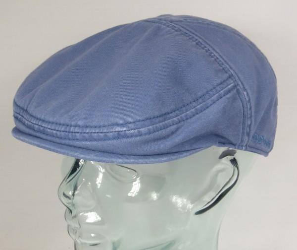 STETSON PARADISE Flatcap Baumwolle Sun Guard blau Cap Mütze Sommermütze Neu