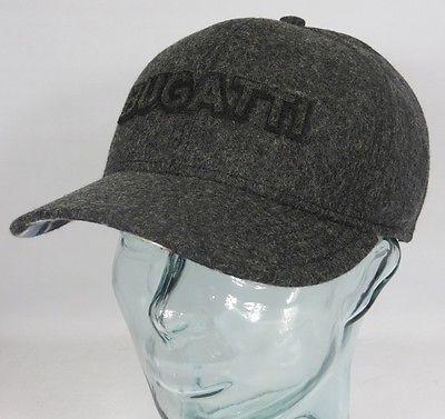 BUGATTI BASECAP Wintermütze Schirmmütze Mütze Cap Kappe Baseballmütze grau Neu