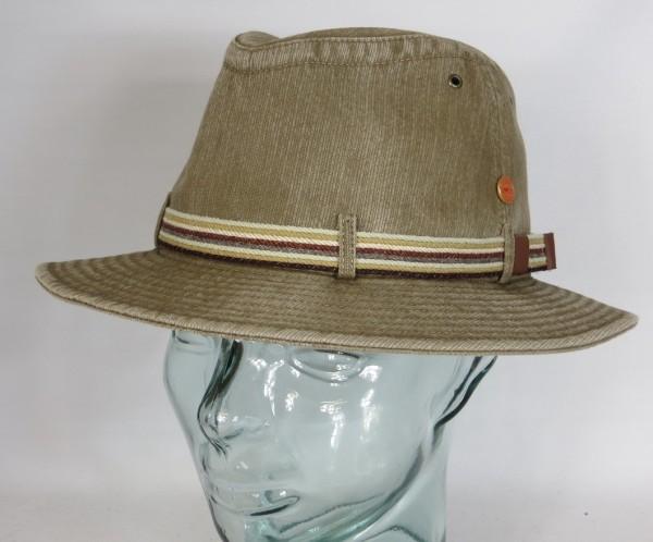 MAYSER MENOWIN Outdoor Hut Baumwolle UV Schutz 80 Stoffhut Traveller khaki Neu
