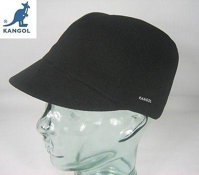 KANGOL TROPIC COLETTE Mütze Cap Hut Schwarz Sommermütze Hutmütze NEU