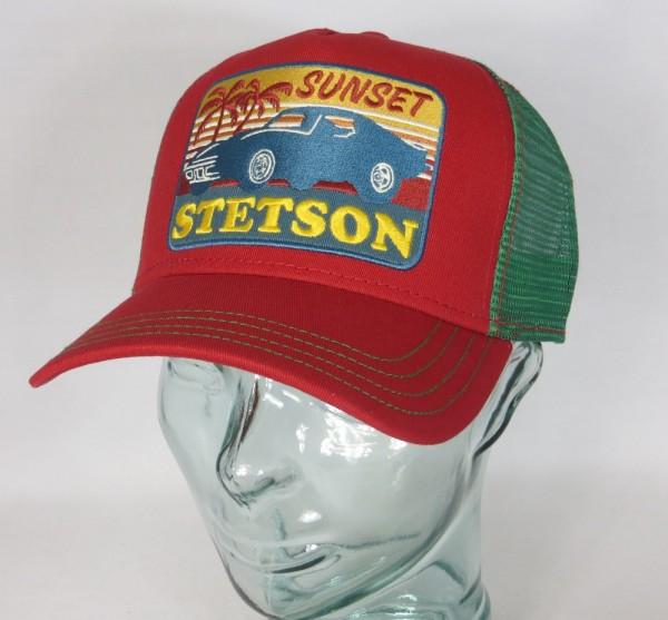STETSON Trucker Mesh Cap Netz Kappe BASECAP SNAPBACK Sunset 7751156 NEU