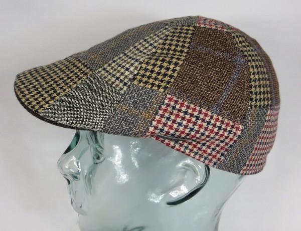 STETSON TEXAS PATCHWORK Mütze Flatcap Schiebermütze Ivy Cap Kappe Gatsby NEU