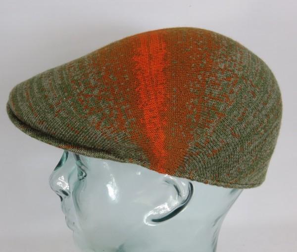 KANGOL Distressed Morse 507 Flatcap Cap Kangolcap Golfcap Gatsby Mütze Moos NEU