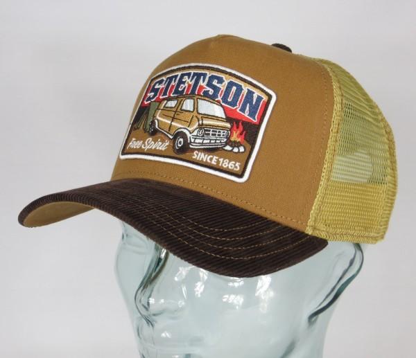 STETSON Trucker Cap Mesh Netz Kappe BASECAP SNAPBACK Camper 7751186 NEU