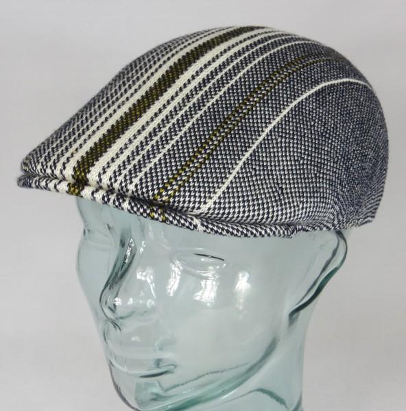 KANGOL Birds Eye 507 Flatcap Ivy Cap Golfcap Gatsby Schiebermütze Mütze cream NEU