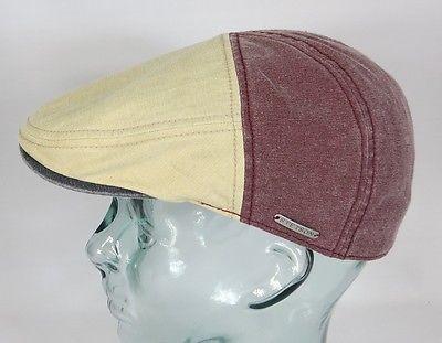 STETSON Flatcap Baumwolle Ivy Cap Mütze Sommermütze Paradise 6911109 Neu