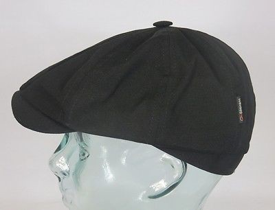 GÖTTMANN KINGSTON Ballonmütze Cap Mütze Schirmmütze schwarz Baumwolle Neu