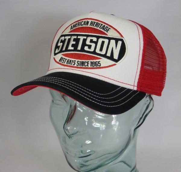STETSON Trucker Mesh Cap Netz Kappe BASECAP SNAPBACK Sommermütze 7751131 NEU