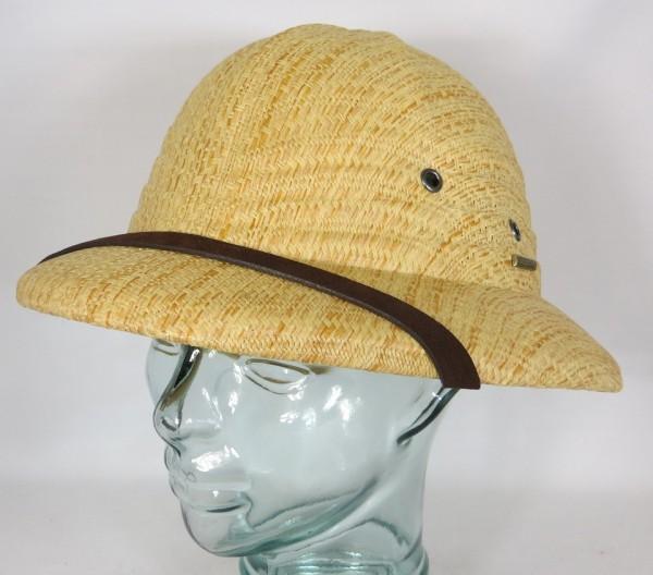 STETSON Tropenhelm Pith Helmet Safari Tropen Hut Safarihelm Strohhut 2928501 Neu