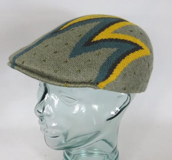 KANGOL Shock Wave 507 Flatcap Ivy Cap Golfcap Gatsby Mütze moos NEU