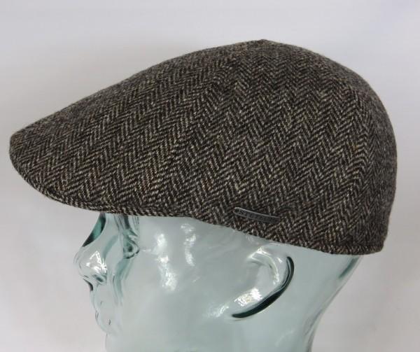 STETSON TEXAS Wool Herringbone Flatcap Schieber Mütze Ivy Cap Gatsby 6610501 Neu