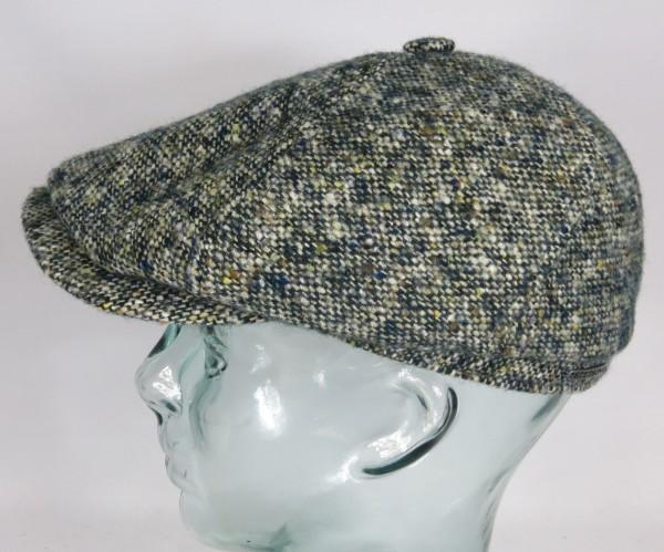 STETSON Brooklin 6-Panel Cap Donegal Mütze Flatcap Schiebermütze 6640601 NEU