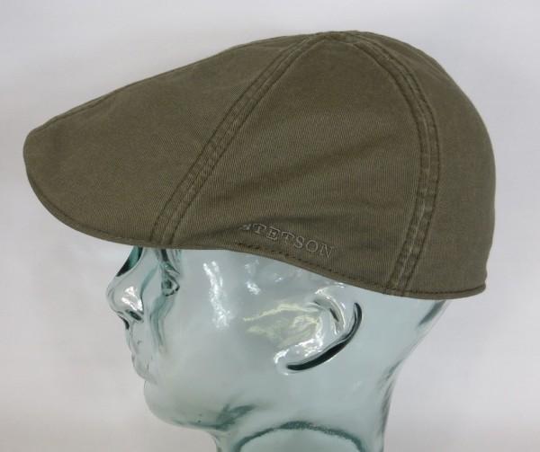 STETSON TEXAS Flatcap Mütze Ivy Cap Cotton Baumwolle Gatsby 6611105 oliv NEU