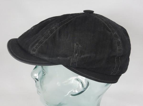 MAYSER SEVEN Outdoor Mütze Schiebermütze Cap Flatcap UV Protect 80 schwarz neu