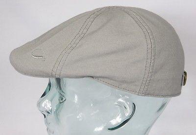 GÖTTMANN ALABAMA Flatcap Ivy Cap Mütze grau Gatsby Sommermütze Baumwolle Neu