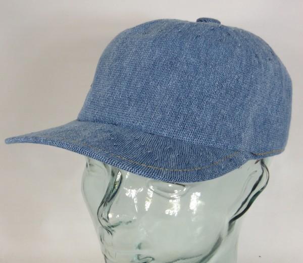 KANGOL INDIGO Spacecap Basecap Mütze Baseball Cap Sommermütze blau NEU