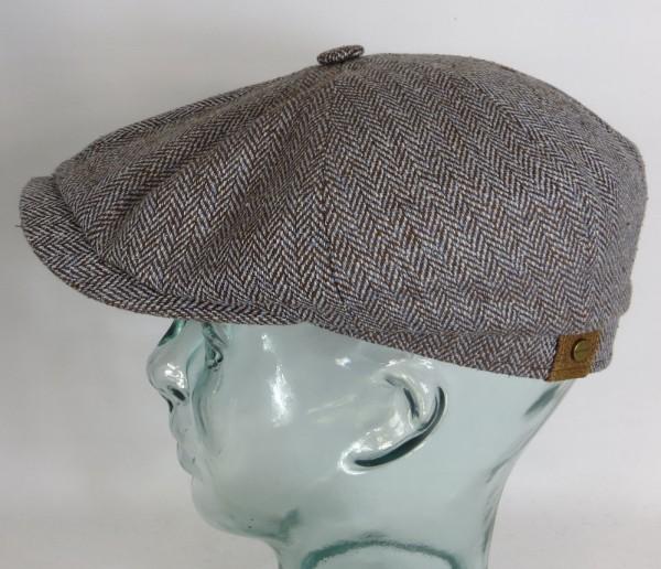 STETSON HATTERAS SILK Flatcap Seide Cap Mütze Schiebermütze Bakerboy 326 6842501 NEU