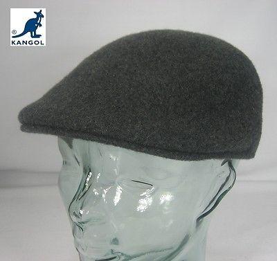 KANGOL Wool 507 SEAMLESS Flatcap Grau Wolle Mütze Cap Kangolmütze Kangolcap NEU