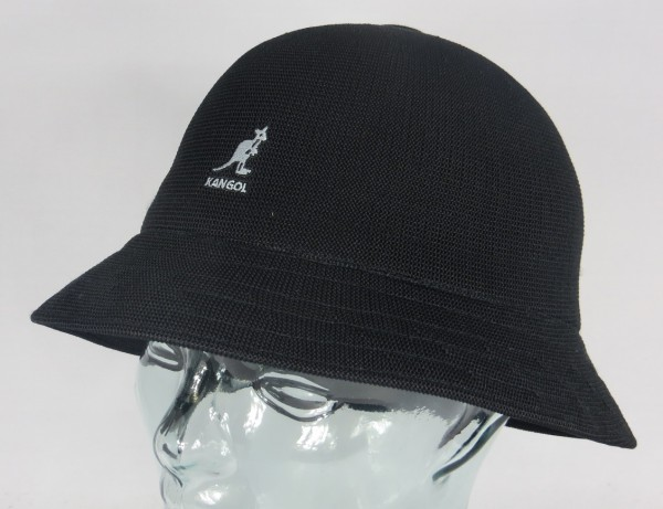 KANGOL TROPIC CASUAL Hut Bucket Hat Bobby schwarz Mütze Sommerhut NEU