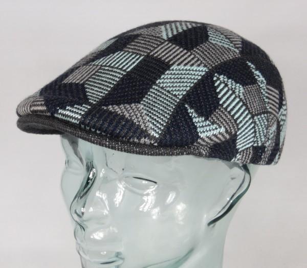 KANGOL Tiled 507 Flatcap Ivy Cap Golfcap Gatsby Schiebermütze Mütze navy NEU