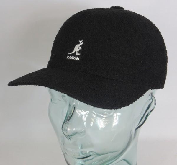 KANGOL BERMUDA SPACE CAP Basecap Baseball Sommer Mütze schwarz NEU