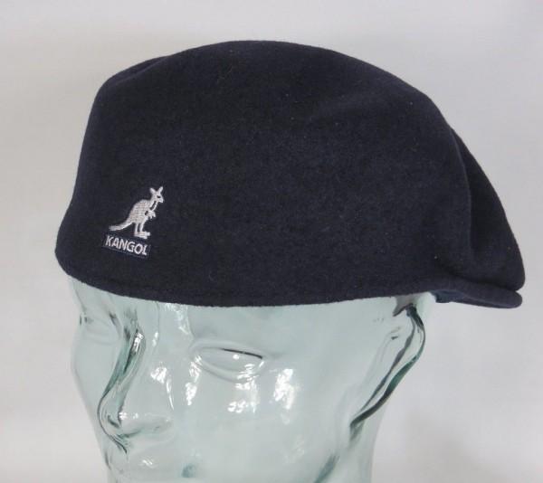 KANGOL WOOL 504 Flatcap Blau Wolle Mütze Cap Pepe Kangolmütze Kangolcap Neu