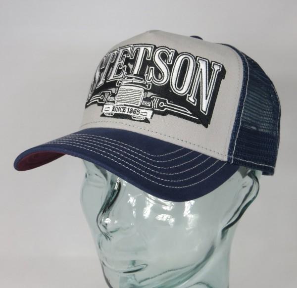 STETSON Trucker Cap Mesh Netz Kappe BASECAP SNAPBACK Mütze 7751166 Truck NEU