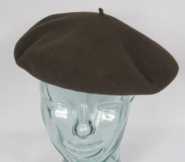 PEBEO Baskenmütze Barret 10 große Herrenbaske Braun französische Baske Neu