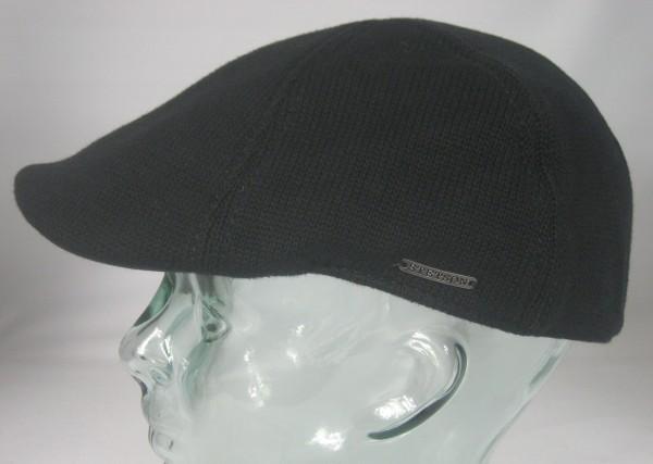 STETSON Muskegon Flatcap Ivy Cap schwarz Schieber Mütze Gatsby Texas 6611104 Neu