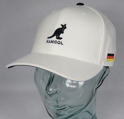 KANGOL NATIONS 110 ADJUSTABLE BASEBALL CAP Basecap Mütze Deutschland Germany Neu