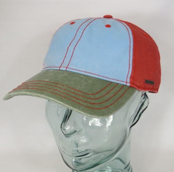 STETSON Cap Basecap Käppi Kappe Baseball Mütze Baumwolle Sun Guard 7711103 NEU