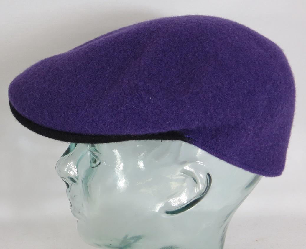 Kangol Wool 504 S Flatcap Lila Wolle M 252 Tze Cap Pepe