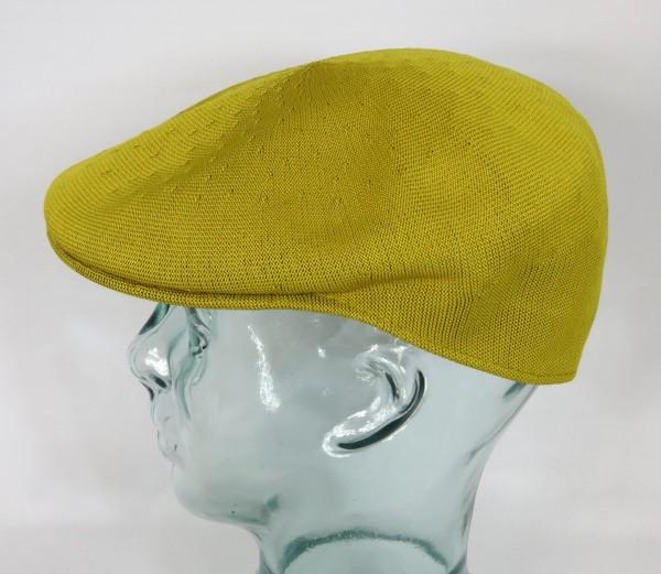 KANGOL TROPIC 504 Flatcap Cap Mütze Kangolmütze Kangolcap Golden Palm NEU